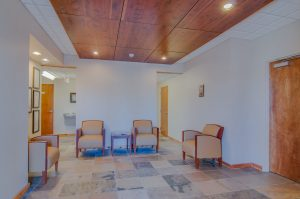 Association General Contractors Inlaid Wood Tile Lobby