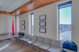 Conference Room Seating Large Wood Commercial Trim Design
