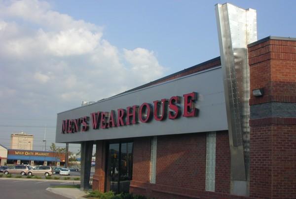 Nashville Mens Wearhouse retail architect