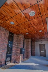 General Contractors of Tennessee Inlaid Wood Ceiling
